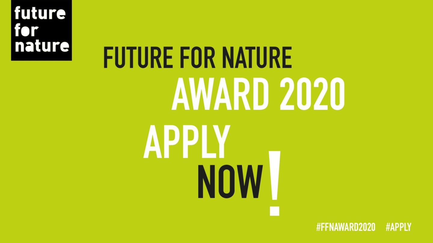 Application for 2020 NOW open! - Future For Nature